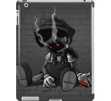 smoking kills iPad Case/Skin