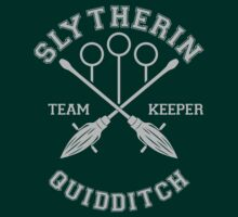 Quidditch - Slytherin - Team Keeper by Divum