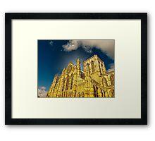 York Minster special effect Framed Print