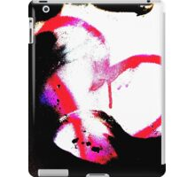 Abstract heart in pink iPad Case/Skin