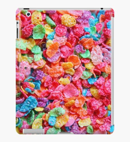 Fruity Cereal iPad Case/Skin