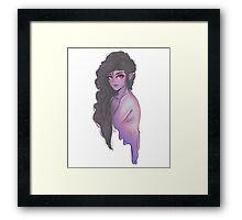 Marceline The Vampire Queen Framed Print