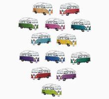 Microbus One Piece - Short Sleeve