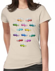 Microbus Womens Fitted T-Shirt