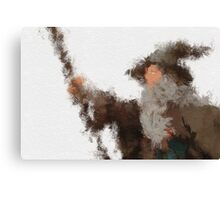 Gandalf the Grey Canvas Print