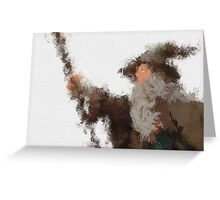 Gandalf the Grey Greeting Card
