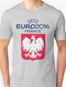 POLSKA-POLAND EURO 2016 FRANCE logo Unisex T-Shirt