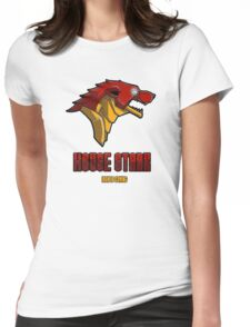 House Iron Stark Sigil and Motto Womens Fitted T-Shirt