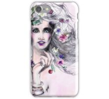 Woman in love  iPhone Case/Skin