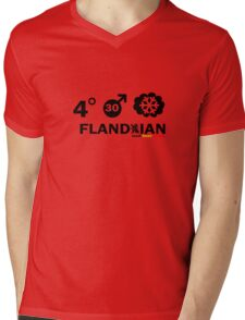 Flandrian Mens V-Neck T-Shirt