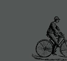 Vintage Bike Guy by Vana Shipton