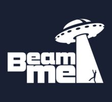 Beam me up V.2.1 (black) Baby Tee