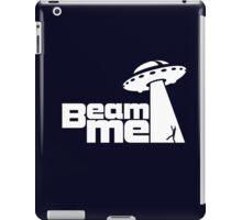 Beam me up V.2.1 (black) iPad Case/Skin