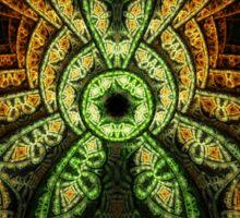 Jungle - Abstract Fractal Artwork Sticker