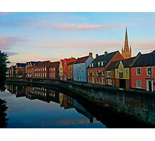 Norwich at Sunset Photographic Print