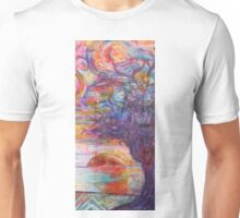 Sunset over the beach Unisex T-Shirt
