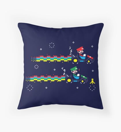 Nyan Kart  Throw Pillow