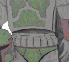 KOBA FETT/colour Sticker