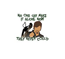Daryl Dixon:  No One Can Make it Alone Photographic Print
