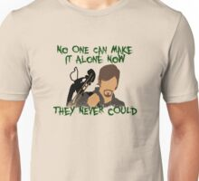 Daryl Dixon:  No One Can Make it Alone Unisex T-Shirt