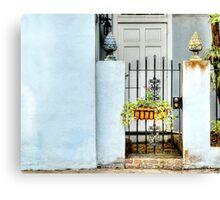 The Garden Gate: Charleston, SC Canvas Print