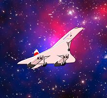 Concorde the Supersonic Airliner - pillows & totes by Dennis Melling