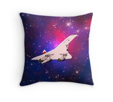 Concorde the Supersonic Airliner - pillows & totes Throw Pillow