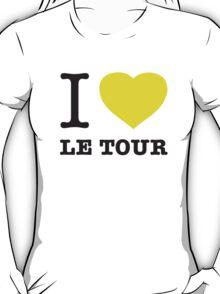 I ♥ LE TOUR T-Shirt