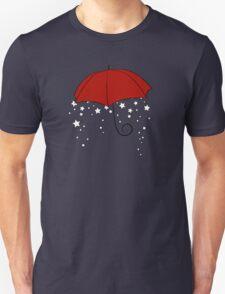 The Magic Red Umbrella Unisex T-Shirt