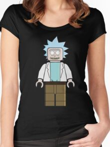 Lego Rick Women's Fitted Scoop T-Shirt