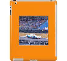 24 h de Le Mans - Vintage - Ford GT iPad Case/Skin