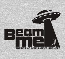 Beam me up V.2.2 (black) Baby Tee