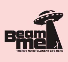 Beam me up V.2.2 (black) Kids Tee