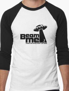 Beam me up V.2.2 (black) Men's Baseball ¾ T-Shirt