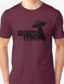Beam me up V.2.2 (black) Unisex T-Shirt