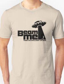 Beam me up V.2.2 (black) Unisex T-Shirt