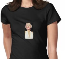 Marilyn Vamp Womens Fitted T-Shirt