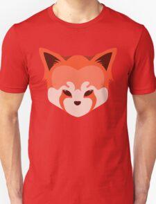 Cute Red Panda Head Logo  Unisex T-Shirt