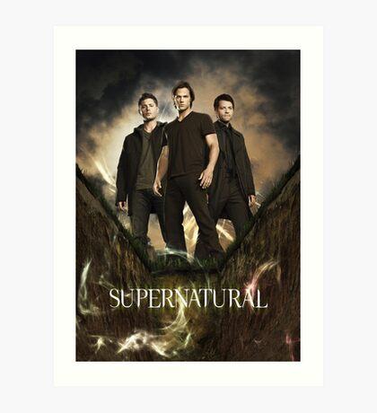 Supernatural  Art Print