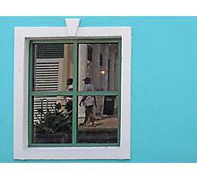 Window View  Photographic Print