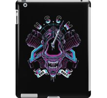 Just Another Bug Hunt (RETRO BLUE) iPad Case/Skin