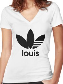 Louie the Icon Women's Fitted V-Neck T-Shirt