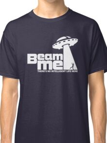 Beam me up V.2.2 (white) Classic T-Shirt