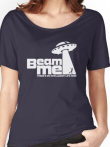 Beam me up V.2.2 (white) Women's Relaxed Fit T-Shirt