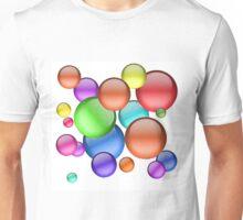 Colorful Bubbles Unisex T-Shirt