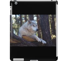 Timber Wolf Sentinel iPad Case/Skin