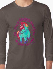 Feminist Pony Long Sleeve T-Shirt