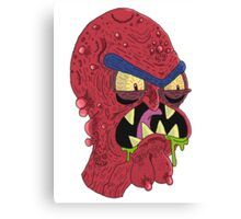 Scary Terry Canvas Print