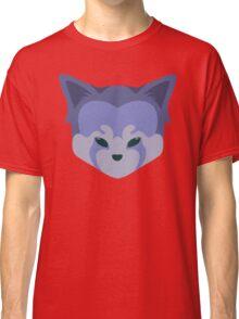 Cute Panda Head Logo T-Shirt Purple Classic T-Shirt