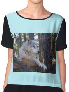 Timber Wolf Sentinel Chiffon Top
